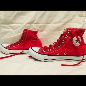 Chuck Taylor all star high red Converse high tops